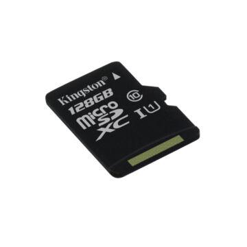 Kingston Canvas Select 128GB microSD memóriakártya Class 10 UHS-I (80MB/s olvasás) (SDCS/128GBSP) - SDCS_128GBSP