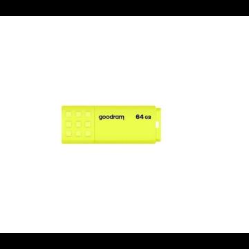 GOODRAM UME2 64GB USB 2.0 Sárga