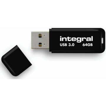 INTEGRALUSB 3.0 64GB Fekete