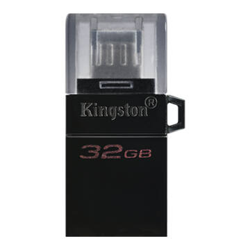 Kingston Dt Microduo OTG 32GB Pendrive USB 3.0 + Micro USB - Android Telefonokhoz, Tabletekhez (DTDUO3/32GB) - DTDUO3_32GB