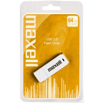 Maxell 64GB Pendrive USB 2.0 - White - 854750_00_GB