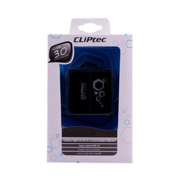 Cliptec Kártya Olvasó USB 3.0, 6 Slots Rzr362-01 Fekete