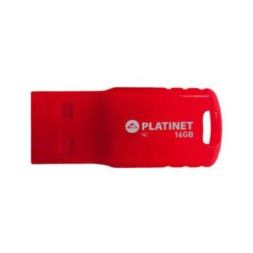Platinet F-Depo 16GB Pendrive USB 2.0 - Piros - 43335