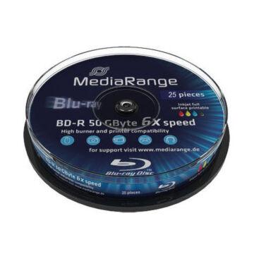 Mediarange BD-R DL 6X 50 gB Blu-Ray Lemez - Cake (25) - MR508