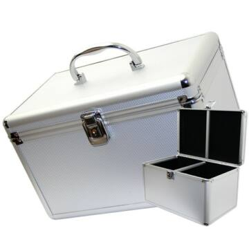 Mediarange Dj Box 200 db-os Ezüst - BOX_75