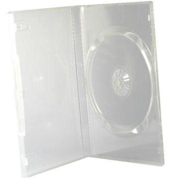 DVD Tok Szimpla 14 mm Átlátszó - BOX_61