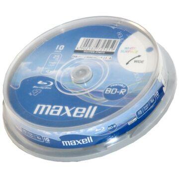 Maxell BD-R 25 GB 4X Nyomtatható Blu-Ray Lemez - Cake (10) - 276072_00