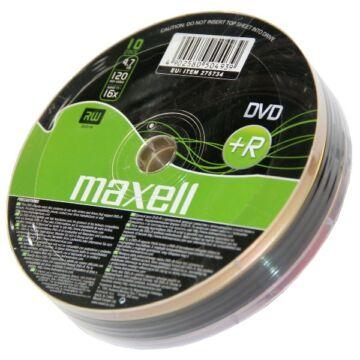 Maxell DVD+R 16X Lemez - Shrink (10) - 275734_40