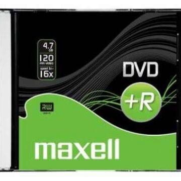 Maxell DVD+R 16X Lemez - Slim Tokban (10) - 275737_S