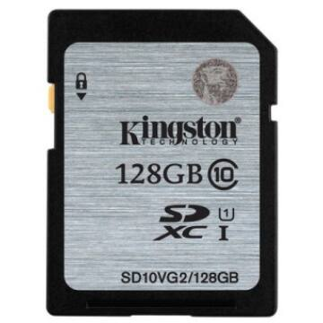 128 GB SECURE DIGITAL SDXC UHS-I KINGSTON - CLASS 10 45MB/s