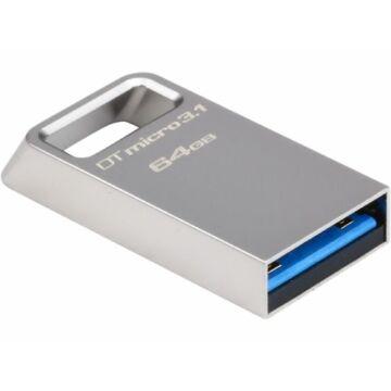 Kingston DataTraveler Micro 3.1 64GB Pendrive USB 3.0 (DTMC3/64GB) - DTMC3_64GB