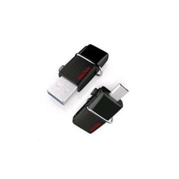 SanDisk Ultra Dual 128GB Pendrive OTG - USB 3.0 + Micro USB - Android Telefonokhoz, Tabletekhez (SDDD2-128G-GAM46)