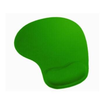 42127 Omega Zselés Csuklótámaszos Egérpad - Zöld