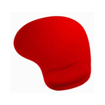 42128 Omega Zselés Csuklótámaszos Egérpad - Piros
