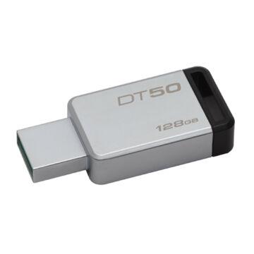 Kingston Dt50 128GB Pendrive USB 3.0 - Fekete (DT50/128GB)