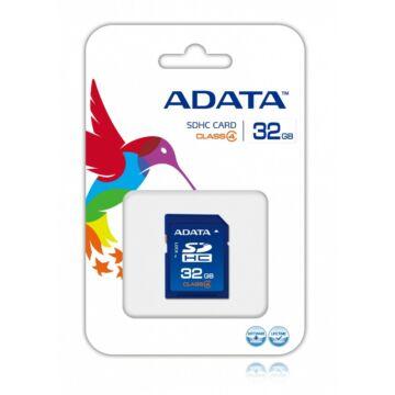 Adata 32GB SDHC Memóriakártya Class 4 (ASDH32GCL4-R) - ASDH32GCL4_R