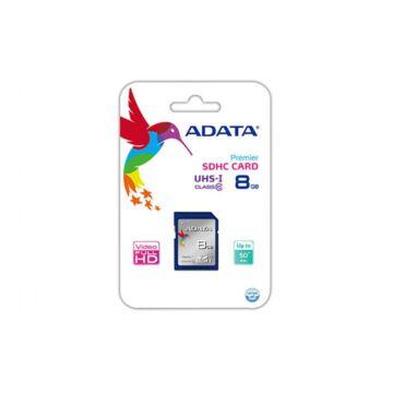 Adata Premier SDHC 8GB Memóriakártya UHS-I Class 10 (ASDH8GUICL10-R) - ASDH8GUICL10_R