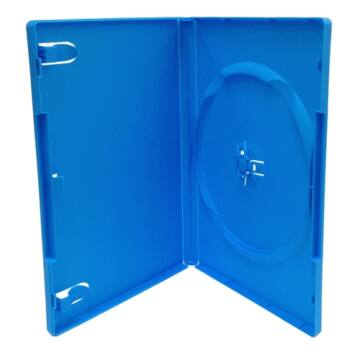 DVD Box Single 14 mm Kék Amaray - BOX_60