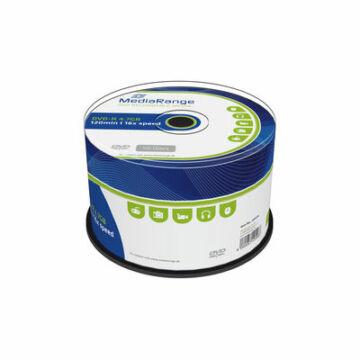 Mediarange DVD-R 16X 4,7 GB Lemez - Cake (50) - MR444