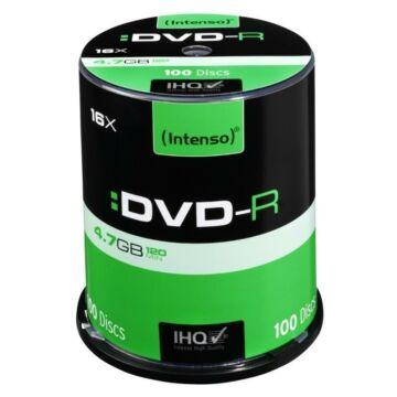 Intenso DVD-R 4,7GB Lemez - Cake (100) - 4101156