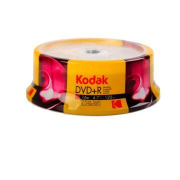 Kodak DVD+R 16X 4,7GB Lemez - Cake (25) - K1310325