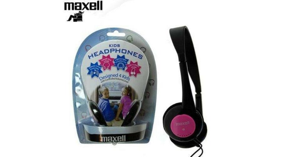 Maxell Kids safe pink fejhallgató V2   Gyerekeknek tervezve! (1 ... 99c112e574